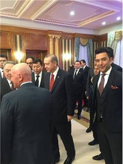 """Arif Kerem Göğüş: """"Orta Asya'da Bizde Varız"""" dedi"""