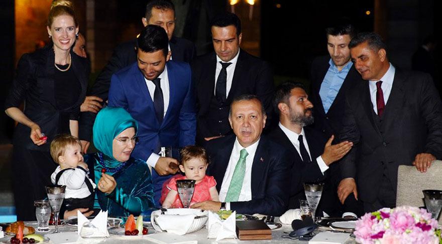 Arif Kerem Göğüş, Recep Tayyip Erdoğan'ın İftarına Katıldı